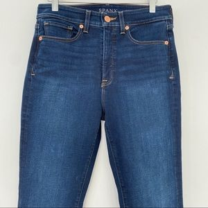Spanks high rise straight jeans